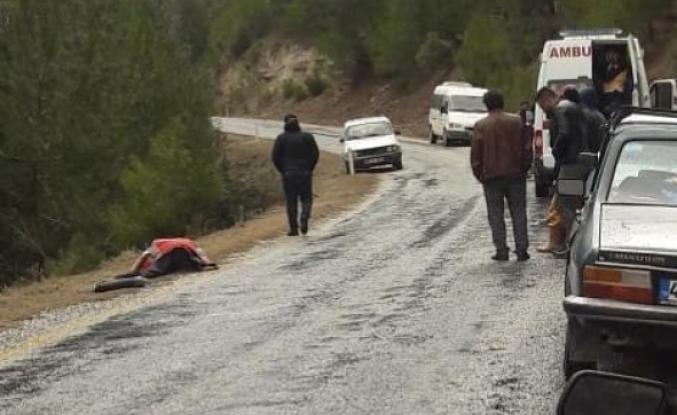 Menteşe'de Bir Kişi Yol Üzerinde Ölü Olarak Bulundu