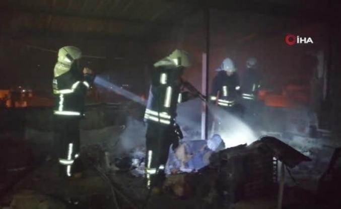Menteşe'deki Bir Evin Çatısında Çıkan Yangın Korkuttu