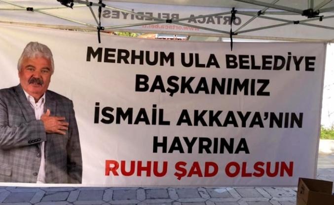 Merhum Ula Belediye Başkanı İsmail Akaya İçin 7 Belediye Lokma Hayrı Yaptı