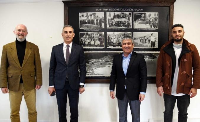 Emniyet Müdürü İsmail Ayhan'dan LH Fethiye Belediyespor Yönetimine Ziyaret