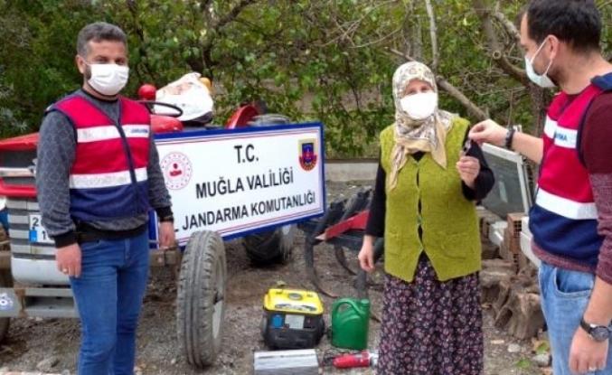 Köyceğiz'de Çalınan Traktör Ormanlık Alanda Bulundu