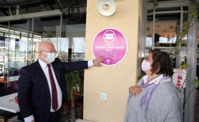 Menteşe'de Cinsiyet Eşitliğine 'Mor Bayrak' Uygulaması