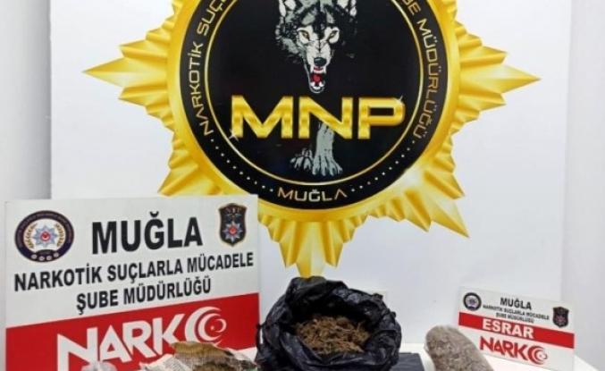 Menteşe'deki Uyuşturucu Operasyonunda Bir Kişi Polisi Görünce Kaçtı