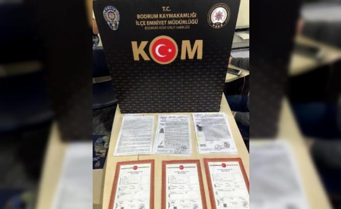 Bodrum'da Sahte Tapuyla Villa Satmaya Çalışan 5 Kişiye Gözaltı