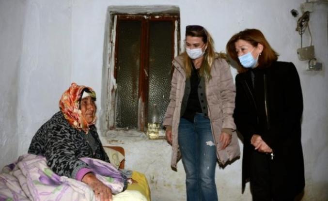 Evi Yanan Yürekli Ailesine Menteşe Belediyesi'nden Yardım