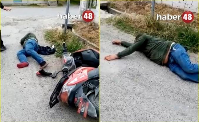 Ortaca'da Motosiklet Kazası: 1 Yaralı