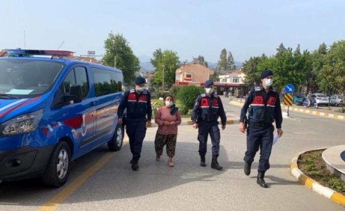Fethiye'de 8 Yıl 1 Ay 15 Gün Hapis Cezası Bulunan Kadın Yakalandı