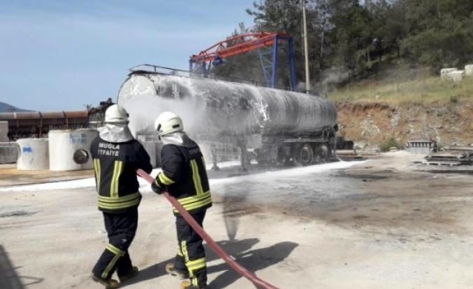 Fethiye'de Zift Tankerindeki Patlama Yürekleri Ağızlara Getirdi