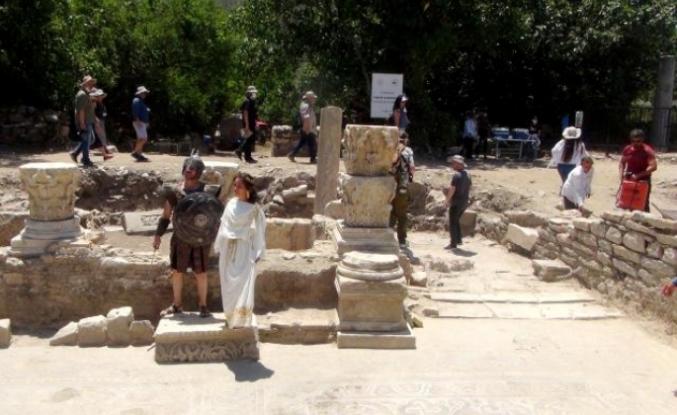 İş Bankası'ndan Yatağan'daki Stratonikeia Kazılarına Destek