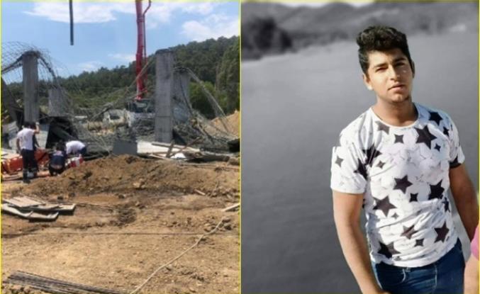 Ula'da İnşaatta Göçük Meydana Geldi: 1 Genç Öldü, 3 Yaralı