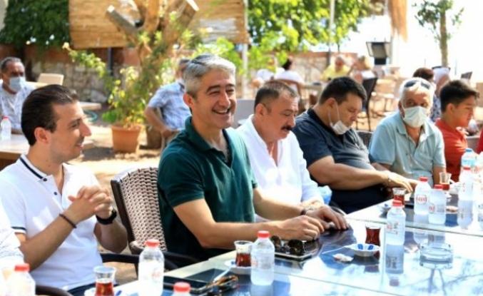 Marmaris Belediye Başkanı Mehmet Oktay'dan Bayram Ziyareti