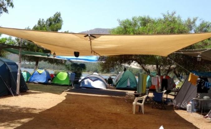 Marmaris'teki Kamp Alanları Kurban Bayramı Tatilinde Doldu