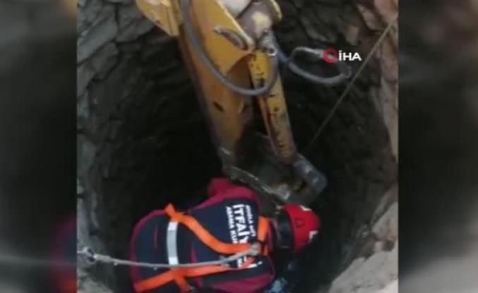 Menteşe'de Kurbanlık Dana Kuyuya Düştü