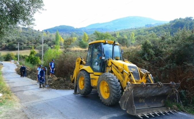 Menteşe'de 8 Mahalleye Kanalizasyon Hattı Yapılıyor