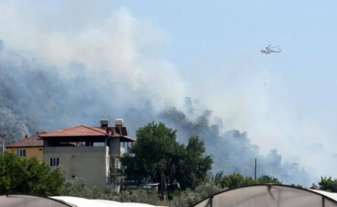 Dalaman'daki Yangın Büyümeden Söndürüldü