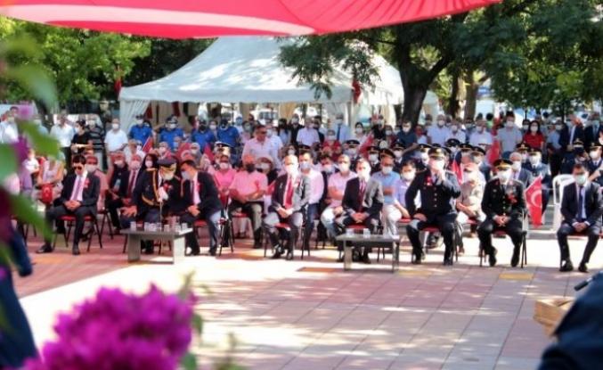 Ortaca'da 30 Ağustos Zafer Bayramı Törenle Kutlandı