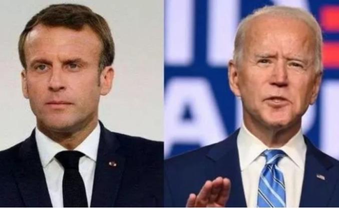 Beyaz Saray Duyurdu: Biden ile Macron Görüştüler