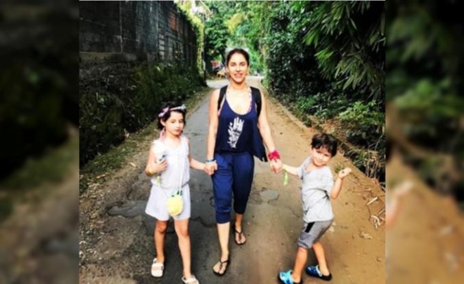Irmak Ünal, Çocuklarıyla Yurtdışına Yerleşti