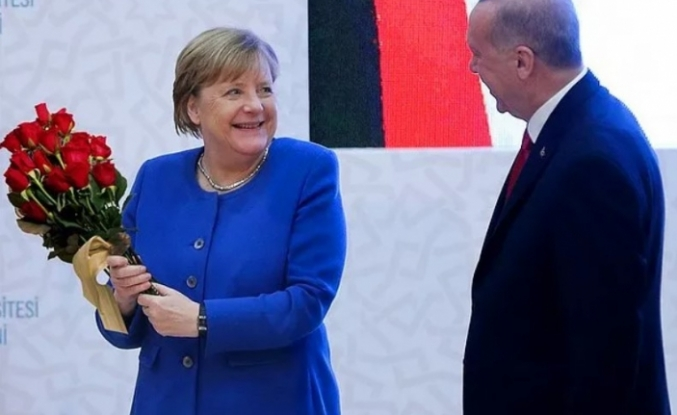 Merkel'den Erdoğan'a Veda Ziyareti