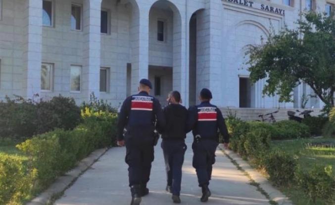 Milas'ta Kesinleşmiş Hapis Cezası Bulunan Hükümlü Hırsızlık Yapınca Yakalandı