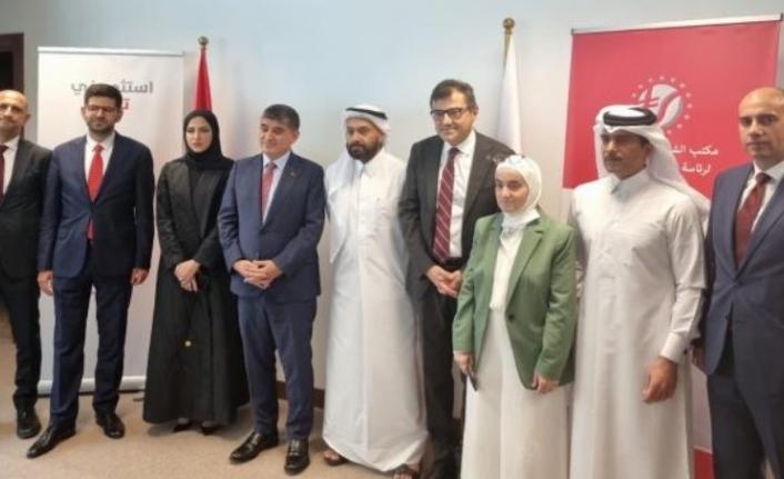Cumhurbaşkanlığı Yatırım Ofisi ve Finans Ofisi'nden Katar Hamlesi