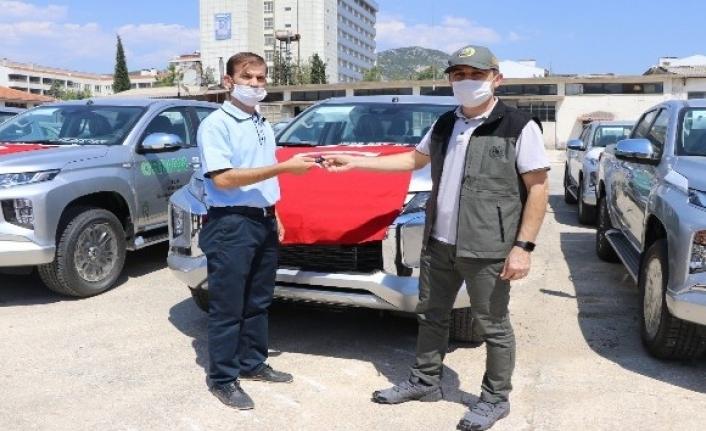 Muğla OBM Araç Parkına 80 Yeni Araç Eklendi