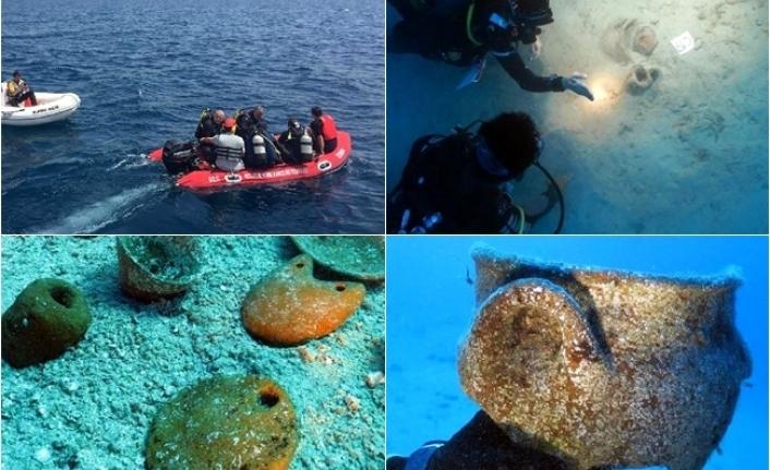 Bilim İnsanları, Marmaris'te Deniz Dibinde 4 Bin Yıllık Eserlere Ulaştı