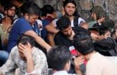 FETHİYE'DE YUNANİSTAN'A GİTMEYE ÇALIŞAN 114 GÖÇMEN YAKALANDI