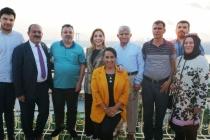 YELDA EROL'DAN BİNALİ YILDIRIMA DESTEK İÇİN İSTANBUL ZİYARETİ