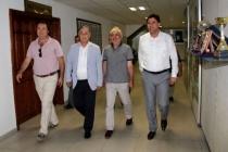 CHP MİLLETVEKİLLERİ FETHİYE'DE ALİM KARACA'YI ZİYARET ETTİ