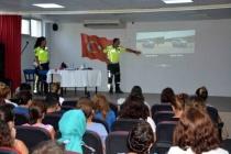 ORTACA'DA ÖĞRETMENLERE TRAFİK EĞİTİMİ VERİLDİ