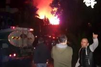 Datça'da Korkutan Otel Yangını