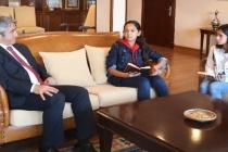 Kuzenler Başkan Oktay İle Röportaj Yaptı
