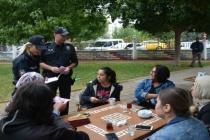 Ortaca'da Polis Memurları Vatandaşlara KADES'i Anlattı