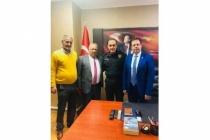 Milas Esnafı Emniyet Müdürü Akkaya'yı Ziyaret Etti