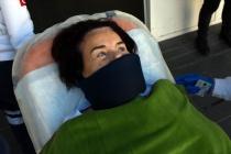 Fatma Girik Bodrum'da Hastaneye Kaldırıldı