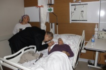 Başkan Alim Uzundemir Yeni Yılda Çalışanları ve Hastaları Unutmadı!
