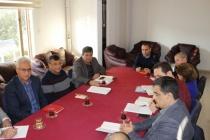 Ortaca Belediyesi Birim Müdürleri Mustafa Kara Başkanlığında Toplandı