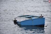 Bodrum'da Rüzgar ve Yağış 4 Deniz Aracını Sulara Gömdü