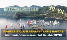 30'UNCU MARMARİS ULUSLARARASI YARIŞ HAFTASI BAŞLADI