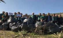 Ara Tatil'de Öğrenciler Çevre Temizliği Yaptı