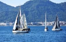 Marmaris'te, Yılın Son Yelkenli Yat Yarışı Başladı