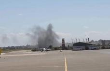 Hafter Güçleri Uluslararası Mitiga Havaalanı'na Füze ile Saldırdı!