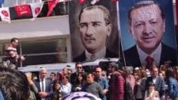 AK Parti Dalaman Belediye Başkan Adayı Muhammet Karakuş Miting Havasında Seçim Bürosu Açılışı