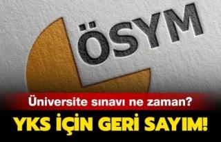 MİLYONLARCA GENCİN BEKLEDİĞİ YKS İÇİN GERİ...