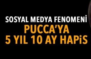 PUCCA LAKAPLI FENOMENE 5 YIL 10 AY HAPİS CEZASI