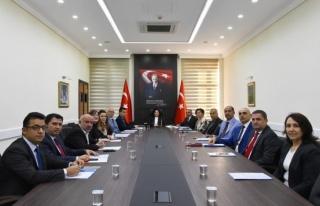 İL İSTİHDAM VE MESLEKİ EĞİTİM KURULU TOPLANTISI...