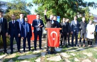MUĞLA ÜLKÜ OCAKLARI'NDAN BARIŞ PINARI HAREKATINA...