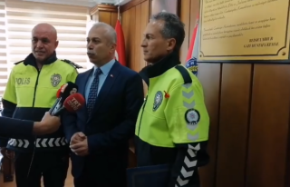 GÖZÜKARA POLİSE BAŞARI BELGESİ