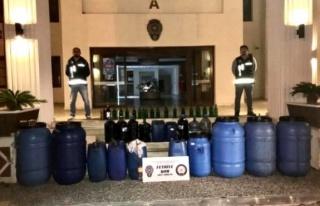 Muğla'da Kaçak Alkol ve Sigara Operasyonu!